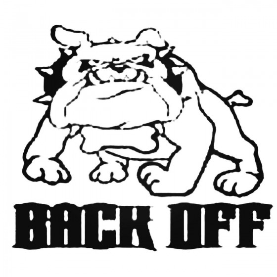 Bulldog Barks Back Off...