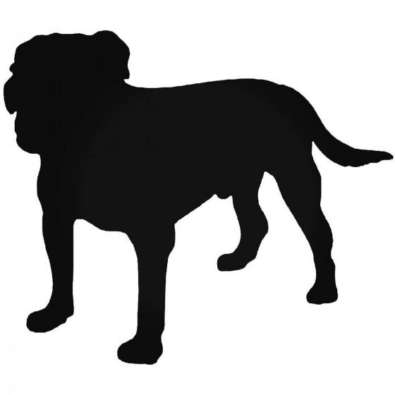 Bulldog Dog 2 Sticker