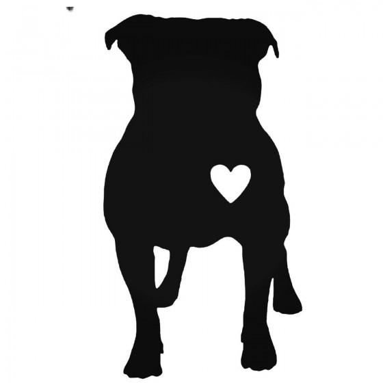 Bulldog Dog With Heart...