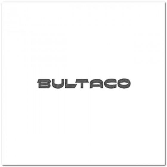 Bultaco Decal Sticker