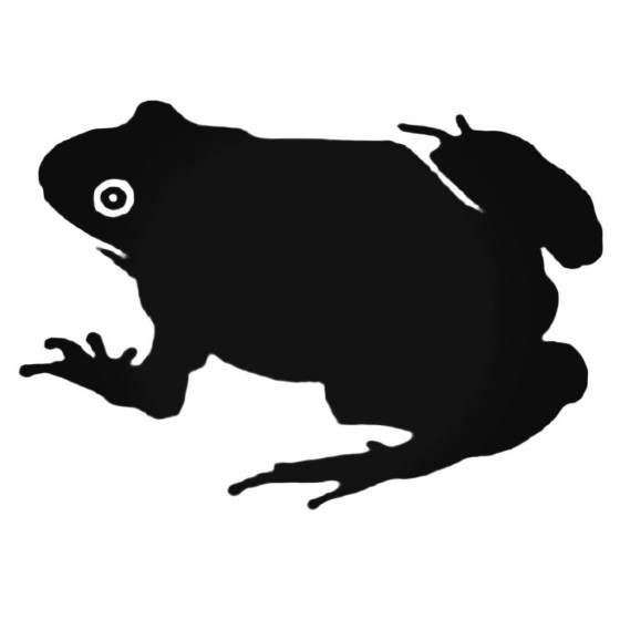 Bumpy Toad Decal Sticker