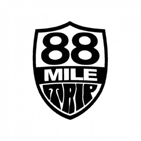 88 Mile Trip Band Logo...