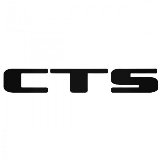 Cadillac Cts Decal Sticker