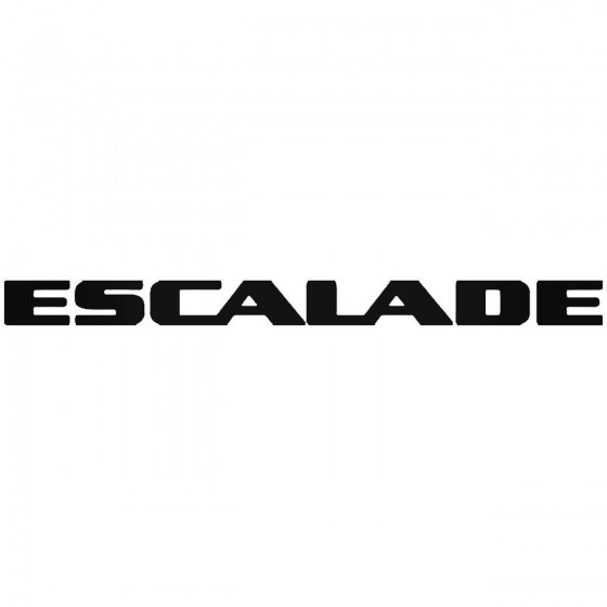 Cadillac Escalade Sticker