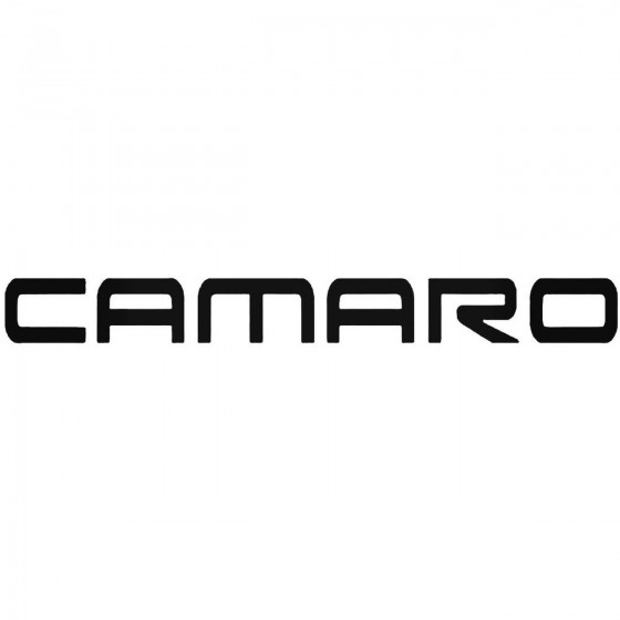 Camaro Graphic Decal Sticker
