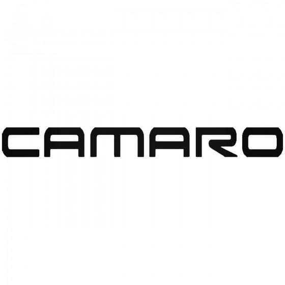 Camaro Sticker