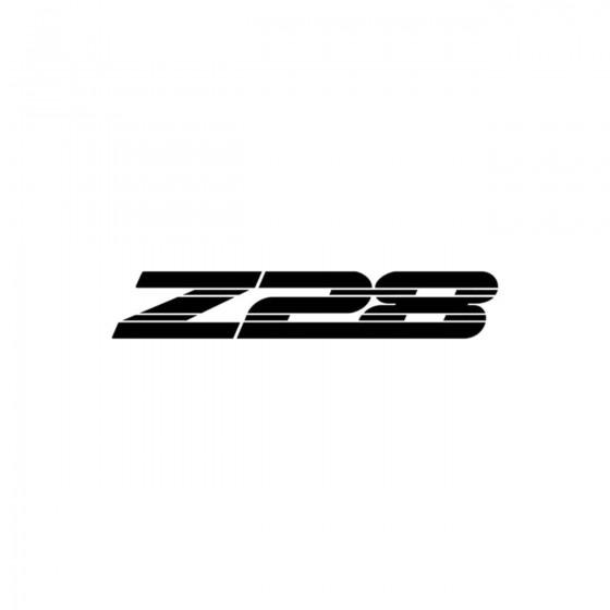 Camaro Z28 Vinyl Decal Sticker