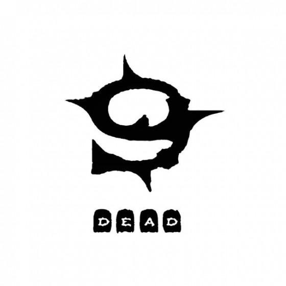 9xdead Band Logo Vinyl Decal