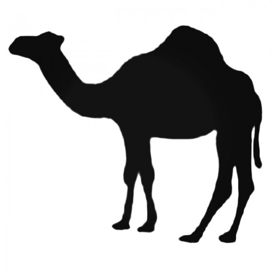 Camel Silhouette Decal Sticker