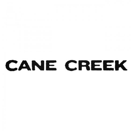 Cane Creek Text Decal Sticker