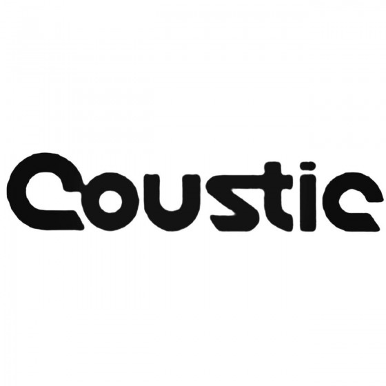 Car Audio Logos Coustic...