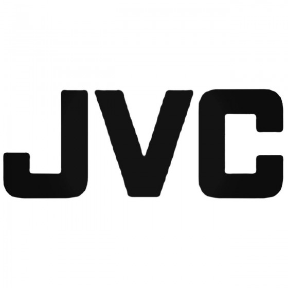Car Audio Logos Jvc Decal