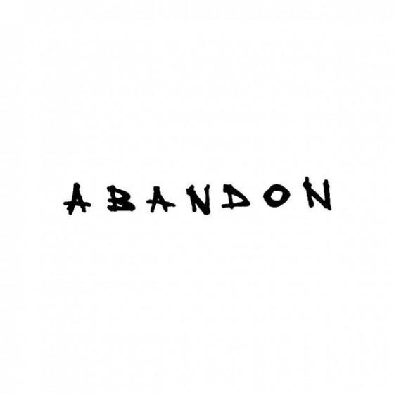 A Bandon 2 Band Logo Vinyl...