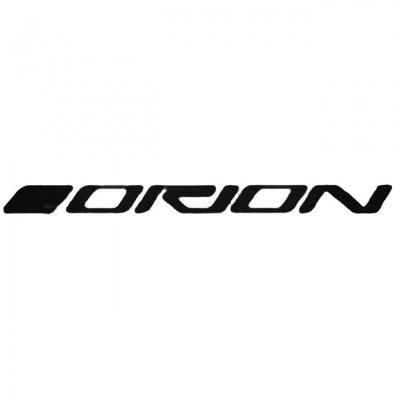 Car Audio Logos Orion Decal