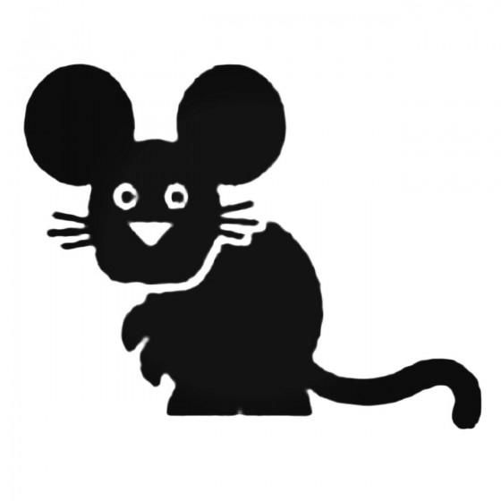 Cartoon Mouse Decal Sticker