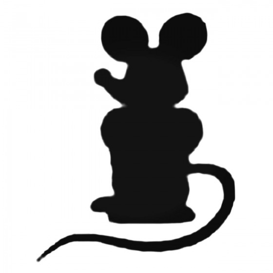 Cartoon Mouse Standing...
