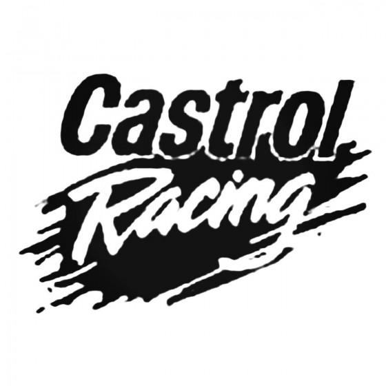 Castrol Racing Decal Sticker