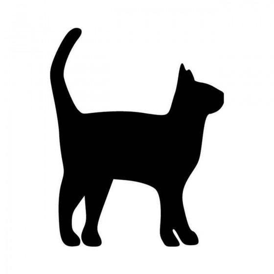 Cat Excited Vinyl Decal...