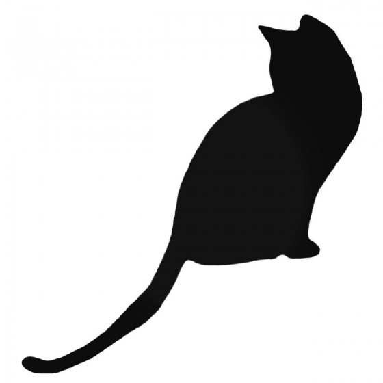 Cat Silhouette Style 2...