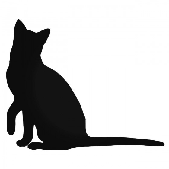 Cat Silhouette Style 3...