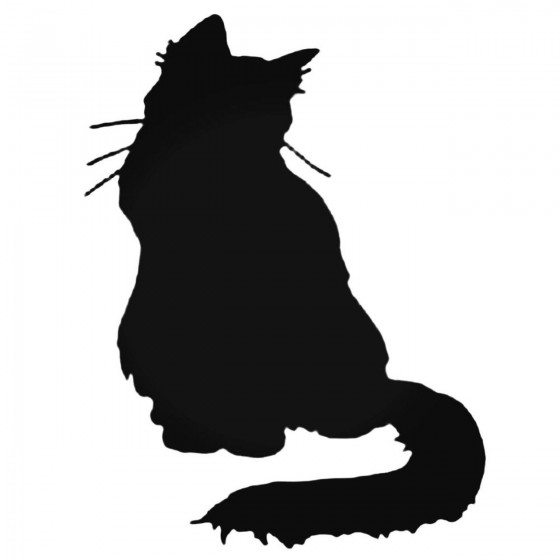 Cat Silhouette Style 5...