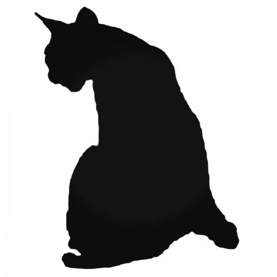Cat Silhouette Style 7...