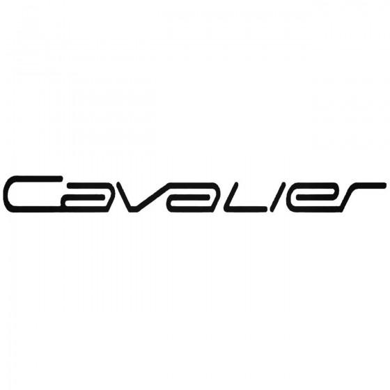 Cavalier Graphic Decal Sticker