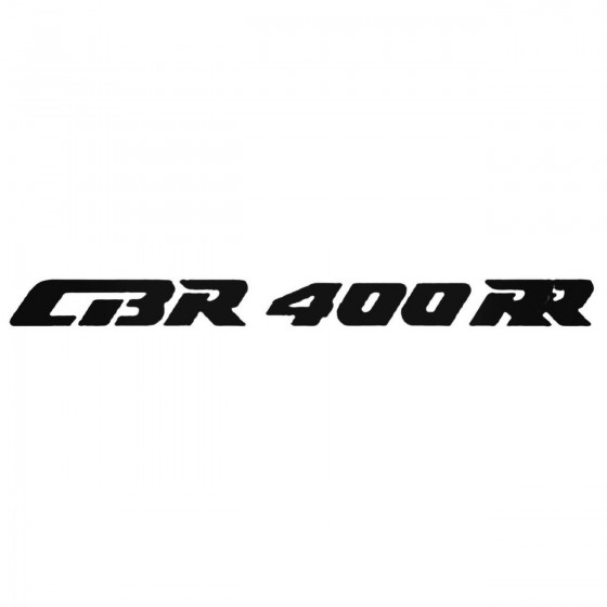 Cbr400rr Decal Sticker