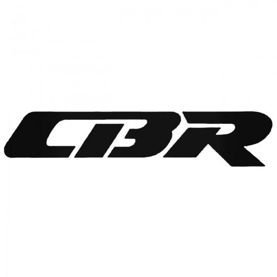Cbr Style 2 Decal Sticker