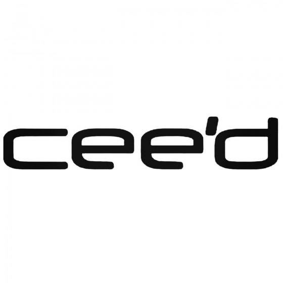 Cee039d Kia Decal Sticker