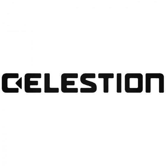 Celestion Audio Logo Sticker