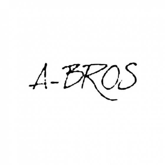 A Bros Band Logo Vinyl Decal