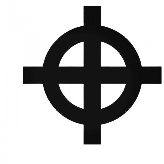 Celtic Cross Irish Decal...
