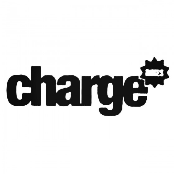 Charge Bikes Decal Sticker