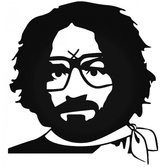 Charles Manson Reilly 3 Decal