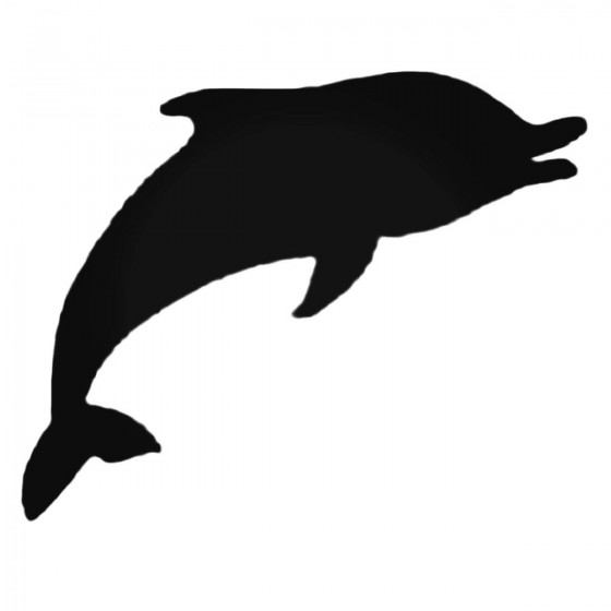 Charming Dolphin Decal Sticker