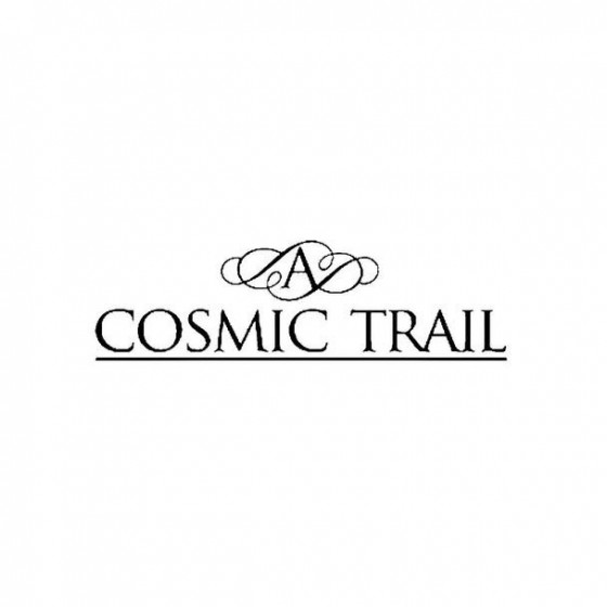 A Cosmic Trail Band Logo...