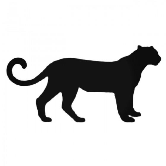 Cheetah Silhouette Decal...