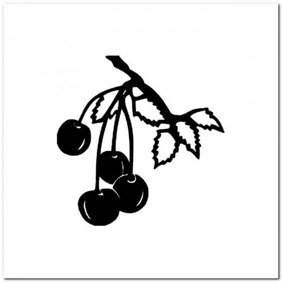 Cherries B Decal Sticker