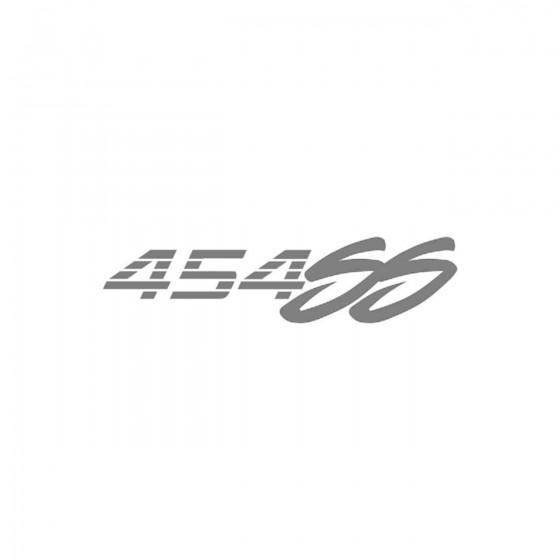 Chevrolet 454 Ss Logo Vinyl...