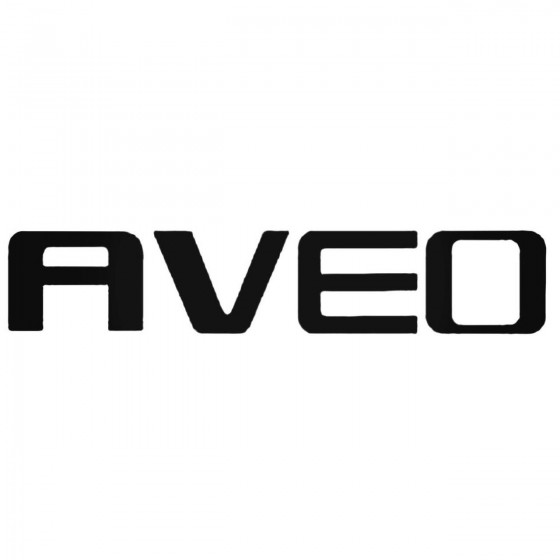 Chevrolet Aveo 1 Decal...