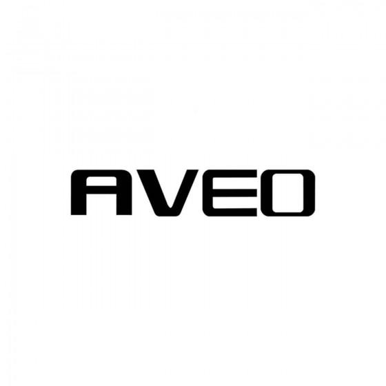 Chevrolet Aveo Logo Vinyl...