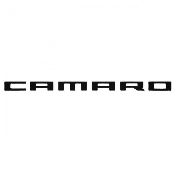Chevrolet Camaro 2010 Decal...