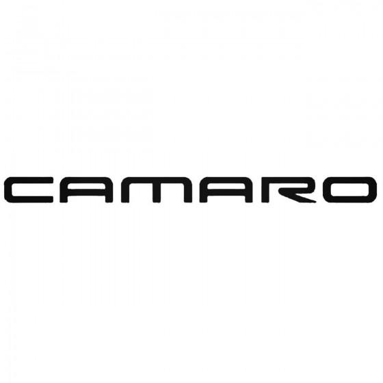 Chevrolet Camaro Decal Sticker