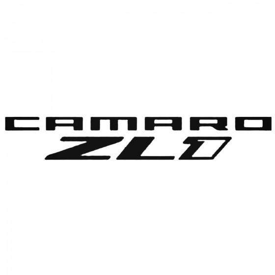 Chevrolet Camaro Zl1 Decal...