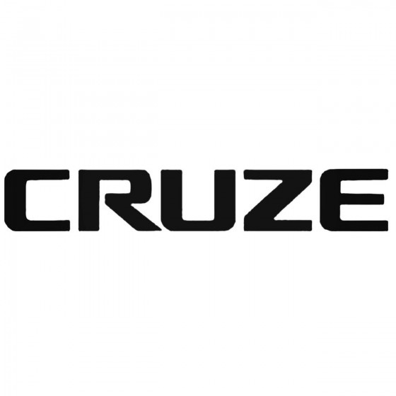 Chevrolet Cruze Decal Sticker