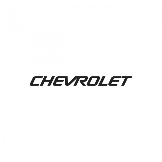 Chevrolet Ecriture 3 Vinyl...