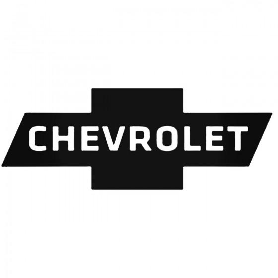 Chevrolet Logo 1 Decal Sticker
