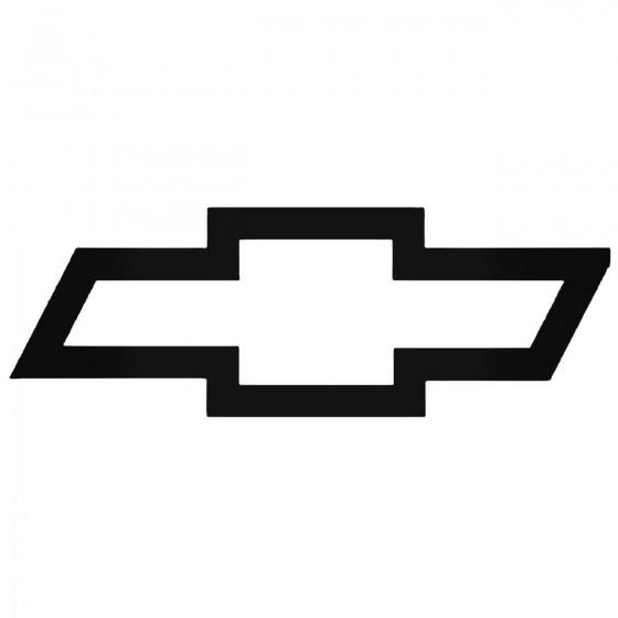 Chevrolet Logo 2 Decal Sticker
