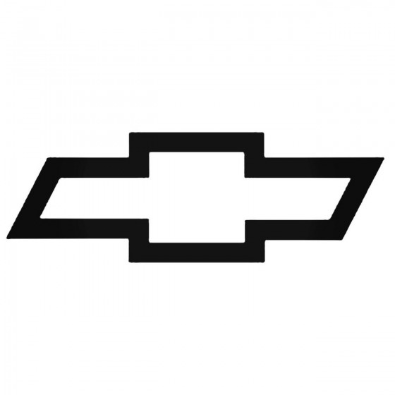 Chevrolet Logo 2 Decal...